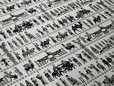 Persepolis Apadana Pattern