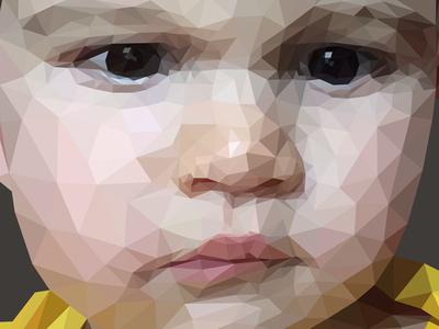 Polygon Style Portrait