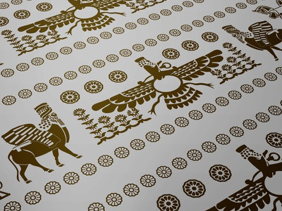 Apadana Persian Persepolis illustred apanada persian illustration design persepolis history art
