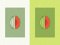 Minimalist Watermelon
