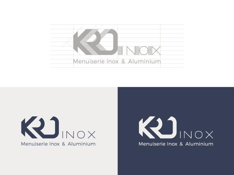 Krd inox logo dribbble