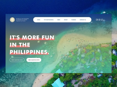 Department of Tourism PH Website Redesign