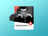 Stanley Kubrick Card
