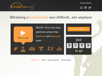 Home Page for Scholarize.org