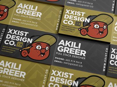 Xxist Design Co. - business cards product design stationery print design branding badge typography cartoon mascot illustration logo brand