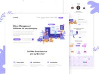 Software Promoting Website   Landing Page design