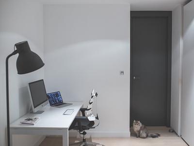 2014 workspace [free photos!] stock free psd workspace desk bearbrick imac setup