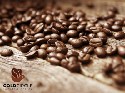 GoldCircle adobe photoshop graphic design promotional banner design coffee