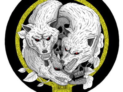 Cerberus artwork drawing design myth animal t-shirt apparel illustration