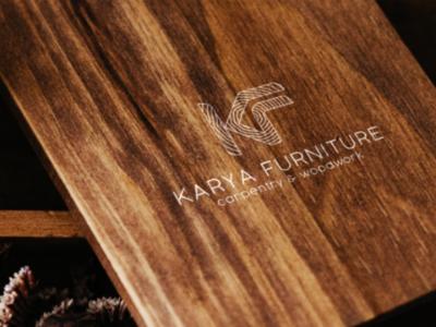 Logo for carpentry business letter carpentry logo