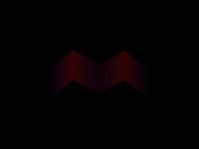 Red lines vector illustration design ux