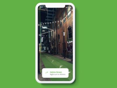 AR/AI Street nigeria mobile ios 10 design app ios branding app ui design ux