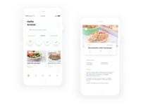 Fridggy - Meal Planning App