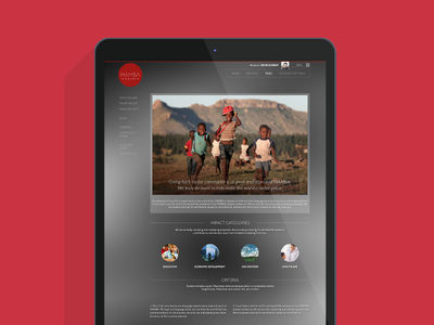 Mamba nonprofit icann responsive web blur red ux ui transcription translation mamba