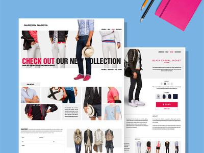 Garçon Garcia runway summer spring men shirts cloth jeans collection fashion web garcia garcon