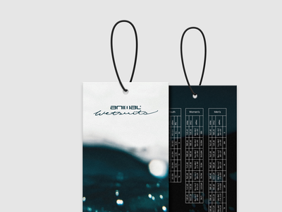Wetsuit Swing Tags