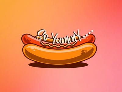 Highlighted HotDog