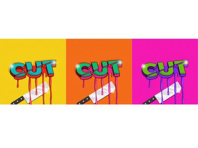 Cutting typography