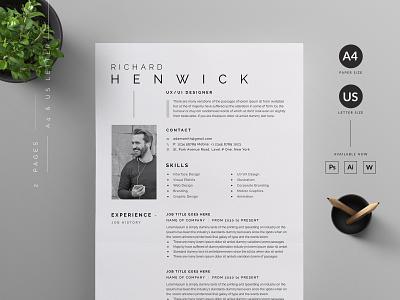 Resume/CV vector