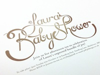 Baby Shower Invite Design