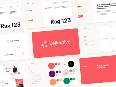 Collective branding freelancers visual identity rebranding branding collective