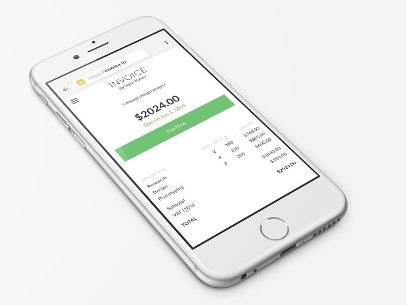 Invoice.to stripe invoice
