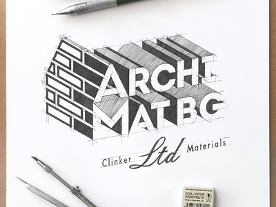 ArchiMatBG creative works designworks vectorgraphics archimatbg handdrawing handmade drawinglogo handdrawn hand drawn vectorgraphic branding vector typography design brand logodesign inspiration logo graphicdesign brainyworksgraphics