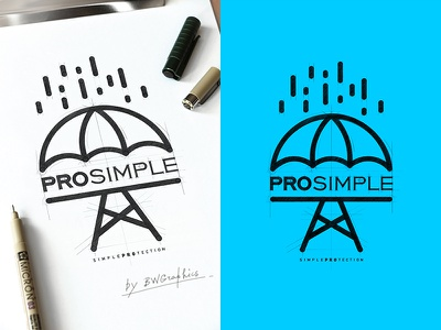 PRO SIMPLE Design Logo vector loveart vectorgraphics digitalart typography design drawinglogo handmade brand handdrawn logodesign logo graphicdesign brainyworksgraphics