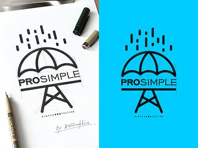 PRO SIMPLE Design Logo vector loveart vectorgraphics digitalart typography design drawinglogo handmade brand handdrawn logodesign logo graphicdesign brainyworksgraphics