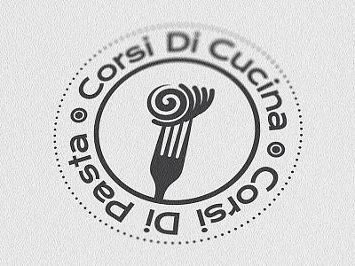 Corsi Di Cucina Corsi Di Pasta Digital Logo logodesign logo inspiration handmade handdrawn graphicdesign drawinglogo corsidicucinacorsidipasta brainyworksgraphics