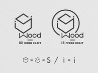 Isi Wood Craft Design Logo By Brainy Works Graphics Dribbble