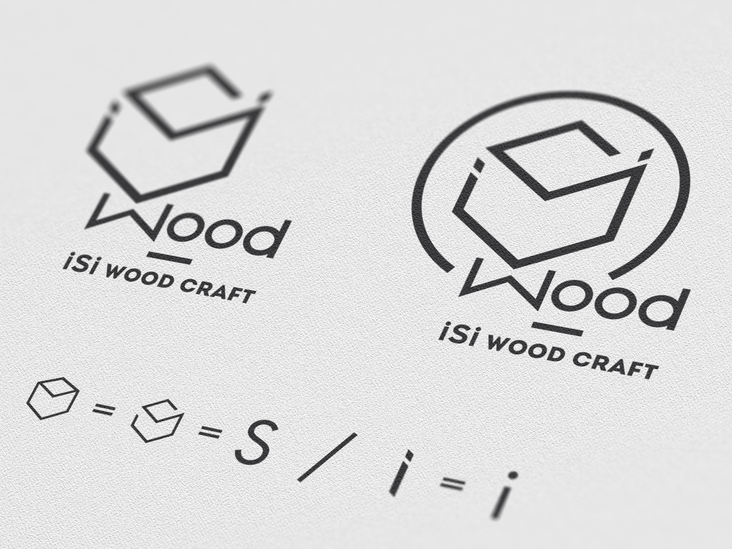 Isi Wood Craft Design Logo Perspective By Brainy Works Graphics