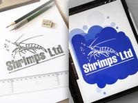 Shrimps Ltd Design Logo