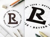 Real Life Design Logo