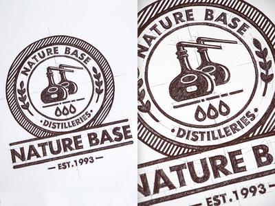 Natur Base Design Logo