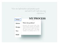 My Process   Concept