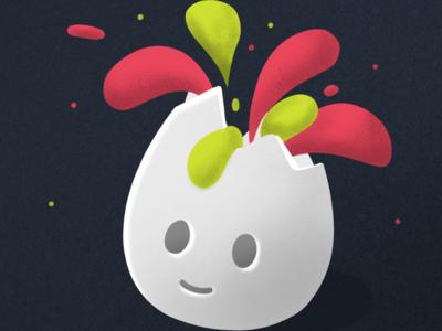 Eggy ipad pro illustraion illustrator
