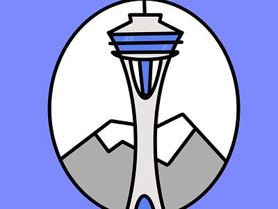 Seattle ipadpro procreate design ui illustration
