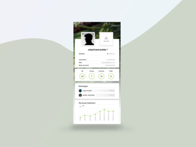 Freelancer profile - Mobile App