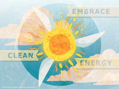 Energy clean energy environment digital collage digital art illustration vector solar power wind power energy ltes draw the change one tree planted our planet week
