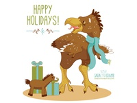 Holiday Beastie: Terror Bird