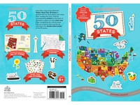Sticker Road Trip: 50 States Cover