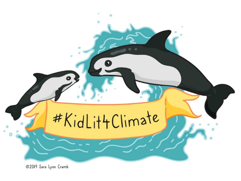 KidLit4Climate illustration vector wildlife illustration sciart protest mammal marine endangered vaquita climate strike kidlit4climate climate