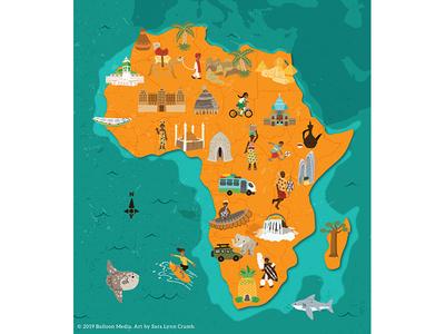 Africa Cultural Map