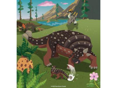 Proud Ankylosaur parent