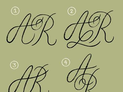 Monogram branding type typography lettering hand lettering monogram design logo mark secondary logo logo monogram logo monogram
