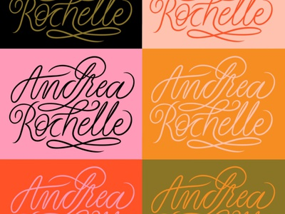New logo, new colors hand lettering art logo design branding design type typography lettering hand lettering illustration color scheme color pallet logo