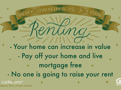 Renting home owner house owning renting banner type typography lettering hand lettering illustration