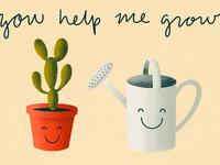 You Help Me Grow
