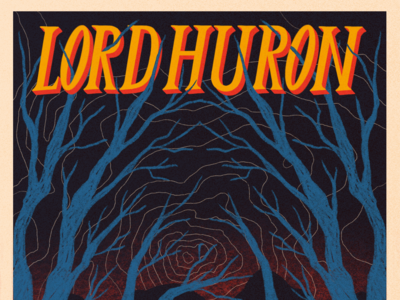 Lord Huron Band Poster